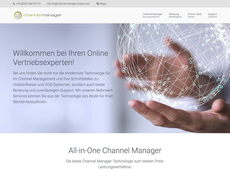 All-in-One Channel Manager